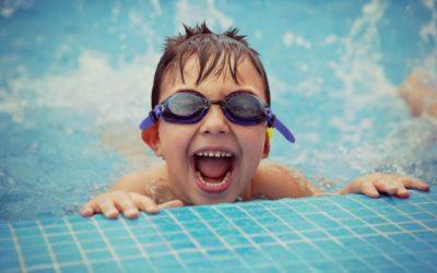 Moluscos contagiosos en piletas de natación