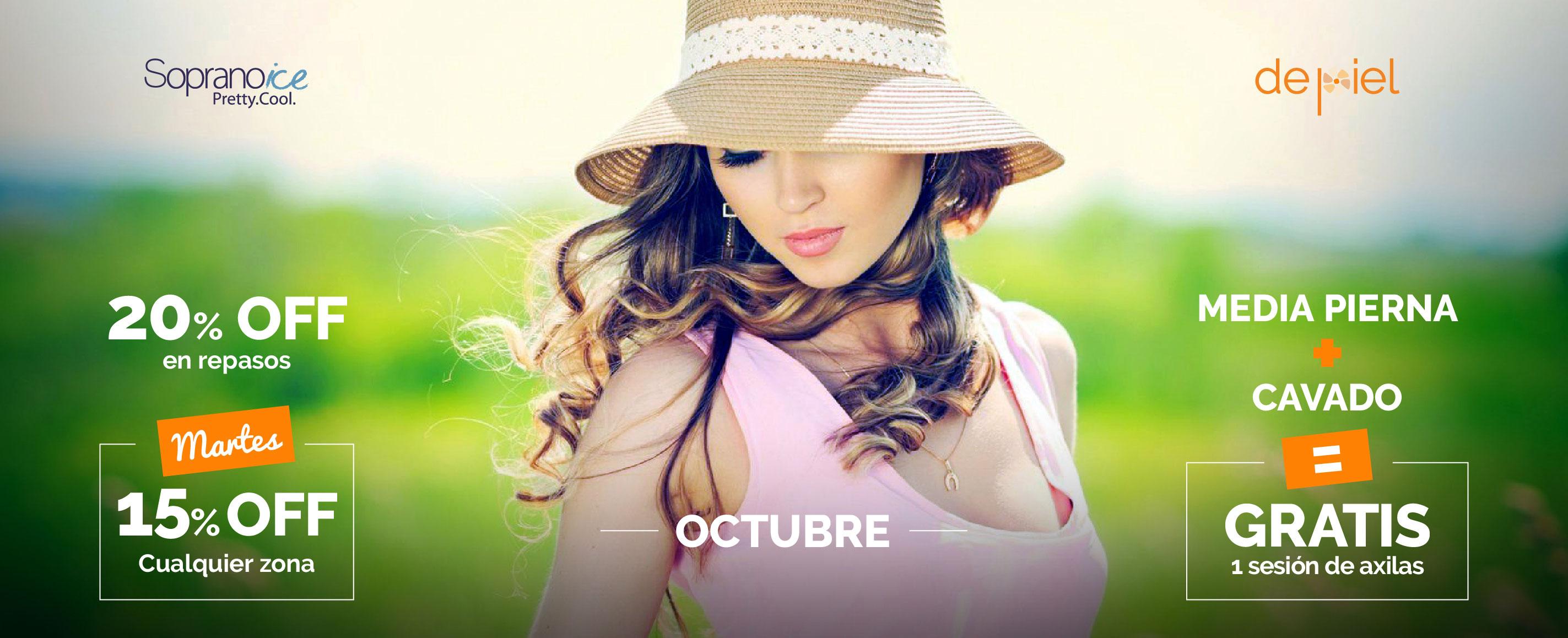 Promoción septiembre en Depilación